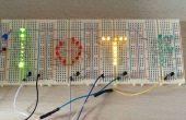Kontrolle eine Anzeige der LEDs am Jameco bauen Nacht