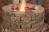 Wie man eigene Feuerstelle bauen
