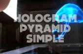 DIY-Hologramm Pyramide