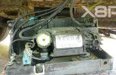 Land Rover Discovery 2 Air Suspension Wabco Kompressor entfernen.