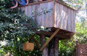Wie man ein Baumhaus bauen