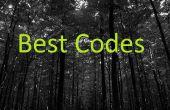 Die besten Codes