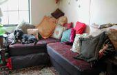 Eine Matratze in eine Couch zu hacken