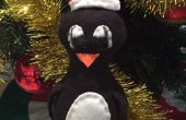 Handgenäht, hausgemachte Pinguin