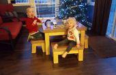 Die Un-flippable Kinder Betontisch (Unterricht in Form machen und Wiederherstellung bei Fehlern)