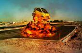 Explosionen in GIMP/Photoshop