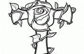 Hölzerne Blume Kreuz mit Dekupiersäge