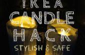 IKEA Kerze Hack eine elegante und sichere Erweiterung