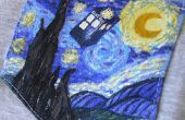 Starry Night & Tardis Tasche Shirt