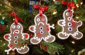 Zombie-Lebkuchen Ornament