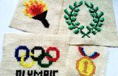 Olympische inspiriert Quersteppung