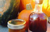 Bourbon Pumpkin Pie verteilt (kein Pektin)