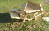Der tolle Picknick-Tisch