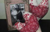 Wie erstelle ich Vintage Herz Kissen