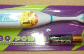 Bot II - aus eine billige elektrische Zahnbürste Borsten