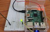 Wie erstelle ich Ihre erste einfache führte Blink-Projekt in Himbeer Pi2