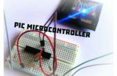 Wie kann man eine PIC-Mikrocontroller mit Led blinken?