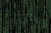 Einfache Matrix-Effekt (Batch-Datei)