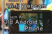 Stellen Sie eine WLAN-Webcam von einem alten Android Telefon