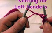 Für Linkshänder Stricken