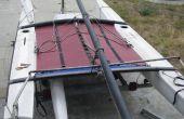Hobie 18 Trampolin aus LKW-Plane zu machen