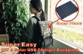 Super Easy DIY A Solar USB Ladegerät Rucksack!