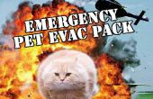 Evakuierung im Notfall Pet Pack
