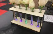 LED Reagenzglas Vase
