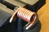 Wie Biegung Kupferrohr und Schläuche ohne zerkleinern es