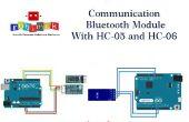 Kommunikation Bluetooth-Modul mit HC-HC 05-06