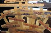 Wie erstelle ich Pflanze Marker aus Recycling-Materialien
