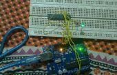 Programmierung von AVR mit Arduino als ISP ohne Bootloader und externen Kristall