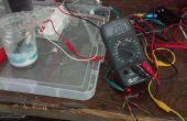 Erstellen einer wiederaufladbaren 2 Volt Aluminium/Titan-Ionen-Akku