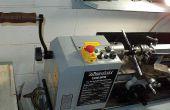 Mini-Drehmaschine Spindel Kurbel