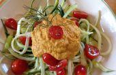 Coole Spiral Zucchini (roh Spaghetti)