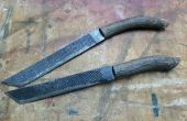 Raspel und Pfefferbaum Messer