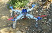 Bauen Sie Ihre eigenen Öko-Quad Copter wiederverwendet und recycelte Materialien
