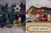 DIY Miniatur Puppenhaus in einer Blechdose