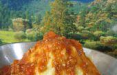 Kartoffel-Vulkan