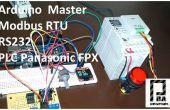 Arduino Modbus Master RTU und PLC Panasonic FPX-C14R