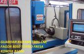 Salvar Parametros Kondia b1000 Y CMZ TBI 450 MC CON Kontrolle FAGOR8050