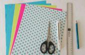 DIY-Papier basteln: Origami Schmuck Box Tutorial