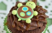 Gewusst wie: Turtle-Cupcakes machen