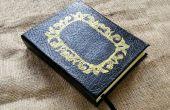 DIY-maßgeschneiderte Buch Journal