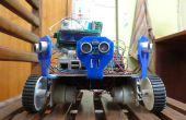 Fügen Sie 6 Ultraschall Abstandssensor zu bestehenden Raspberry Pi Roboter