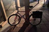 Ein Retro-Fahrrad Satteltasche