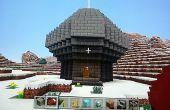 Minecraft beleuchtet Beacon Zimmer