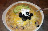 Souper einfache, Souper Delicious Slow Cooker Enchilada Suppe (das ist wirklich ein einem Topf Essen!)