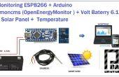 Esp8266 + Arduino-Solar-Ladegerät, Emoncms