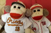 Baseball Rookie Sock Monkeys